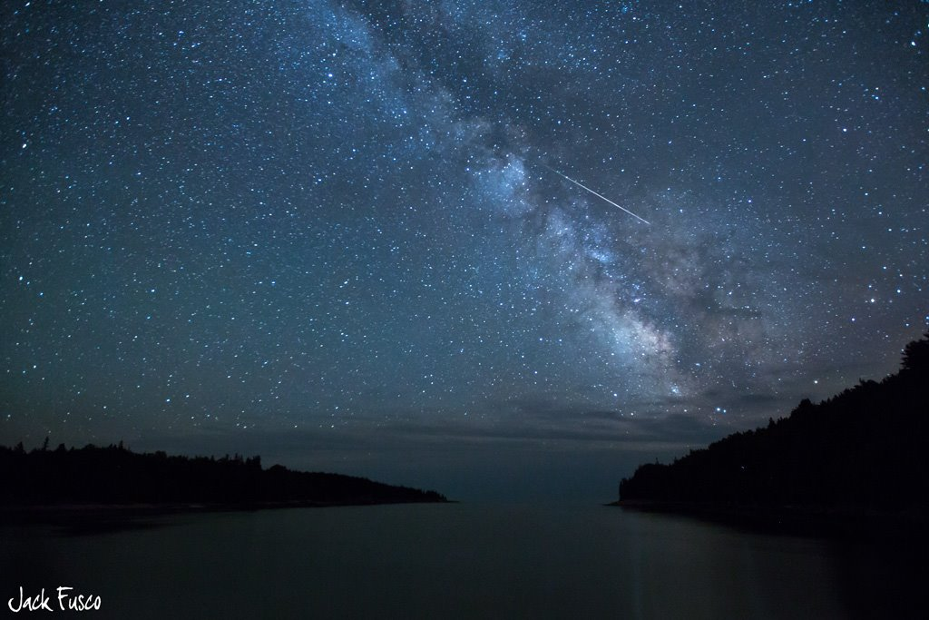 meteor Jack Fusco Photography Acadia Natinal Park Maine